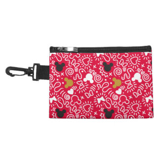 Minnie Mouse | Doodle Pattern Accessory Bag