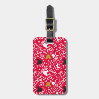 Minnie Mouse | Doodle Pattern Bag Tag