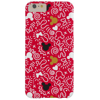 Minnie Mouse | Doodle Pattern Barely There iPhone 6 Plus Case