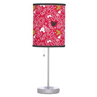 Minnie Mouse | Doodle Pattern Desk Lamps