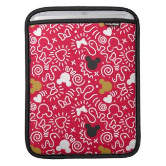 Minnie Mouse | Doodle Pattern iPad Sleeve