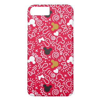 Minnie Mouse | Doodle Pattern iPhone 8 Plus/7 Plus Case