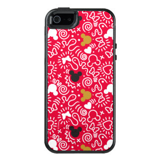 Minnie Mouse | Doodle Pattern OtterBox iPhone 5/5s/SE Case