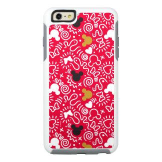 Minnie Mouse | Doodle Pattern OtterBox iPhone 6/6s Plus Case