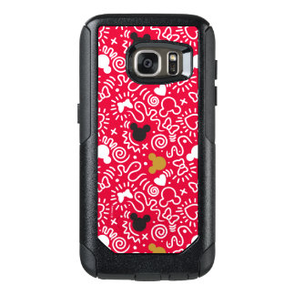 Minnie Mouse | Doodle Pattern OtterBox Samsung Galaxy S7 Case