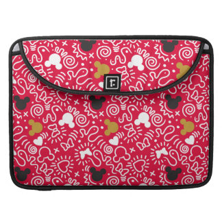 Minnie Mouse | Doodle Pattern Sleeve For MacBook Pro
