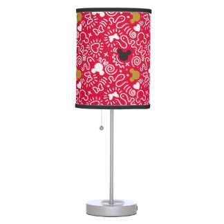 Minnie Mouse | Doodle Pattern Table Lamp