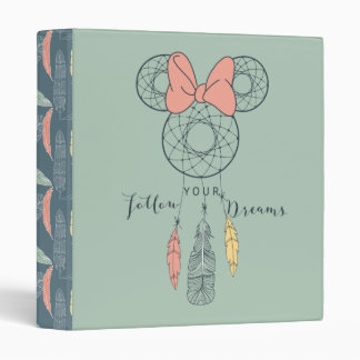 Minnie Mouse Dream Catcher | Follow Your Dreams Binders