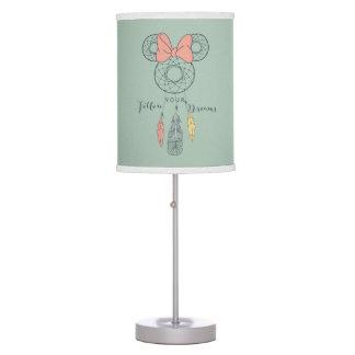 Minnie Mouse Dream Catcher | Follow Your Dreams Desk Lamps