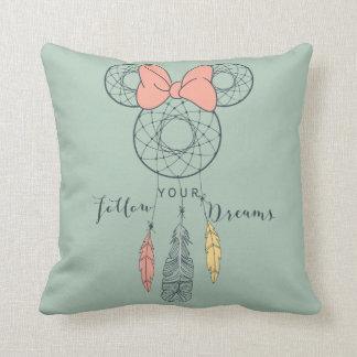 Minnie Mouse Dream Catcher | Follow Your Dreams Throw Pillow