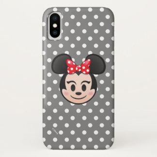 Minnie Mouse Emoji iPhone X Case