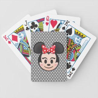 Minnie Mouse Emoji Poker Deck