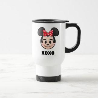 Minnie Mouse Emoji Travel Mug
