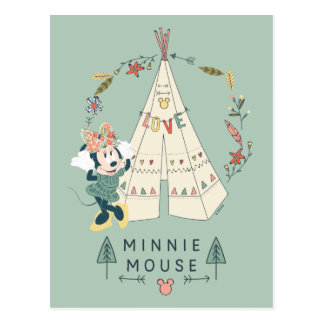 Minnie Mouse | Festival Fun Postcard