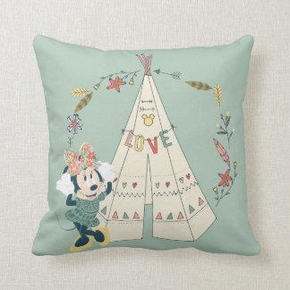 Minnie Mouse | Festival Fun Throw Pillow