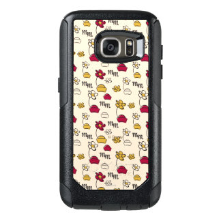Minnie Mouse Hats Pattern OtterBox Samsung Galaxy S7 Case