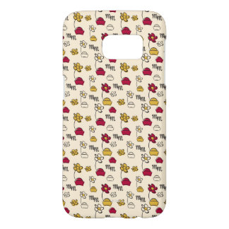 Minnie Mouse Hats Pattern Samsung Galaxy S7 Case