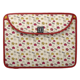 Minnie Mouse Hats Pattern Sleeves For MacBooks