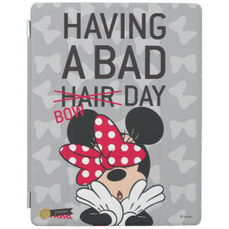 Minnie Mouse | Having a Bad Bow Day iPad Cover