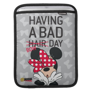 Minnie Mouse | Having a Bad Bow Day iPad Sleeve
