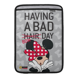 Minnie Mouse | Having a Bad Bow Day MacBook Sleeve