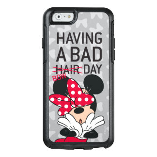 Minnie Mouse | Having a Bad Bow Day OtterBox iPhone 6/6s Case