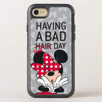 Minnie Mouse | Having a Bad Bow Day OtterBox Symmetry iPhone 8/7 Case