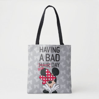 Minnie Mouse | Having a Bad Bow Day Tote Bag