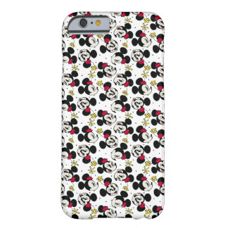 Minnie Mouse Head Pattern Barely There iPhone 6 Case