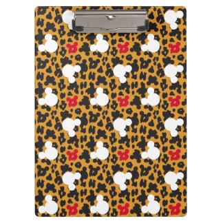 Minnie Mouse | Leopard Pattern Clipboard