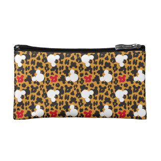 Minnie Mouse | Leopard Pattern Cosmetic Bags