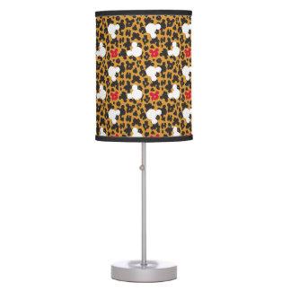 Minnie Mouse | Leopard Pattern Desk Lamps