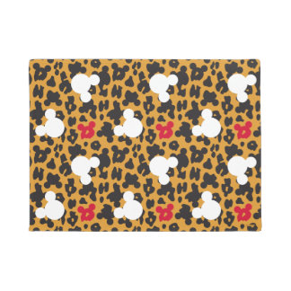 Minnie Mouse | Leopard Pattern Doormat