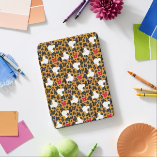 Minnie Mouse | Leopard Pattern iPad Air Cover