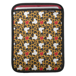 Minnie Mouse | Leopard Pattern iPad Sleeve