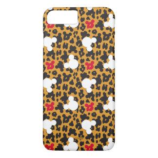 Minnie Mouse | Leopard Pattern iPhone 8 Plus/7 Plus Case