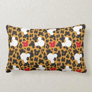 Minnie Mouse | Leopard Pattern Lumbar Pillow