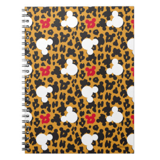 Minnie Mouse | Leopard Pattern Note Book