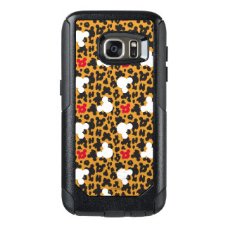 Minnie Mouse | Leopard Pattern OtterBox Samsung Galaxy S7 Case