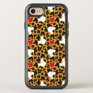 Minnie Mouse   Leopard Pattern OtterBox Symmetry iPhone 7 Case