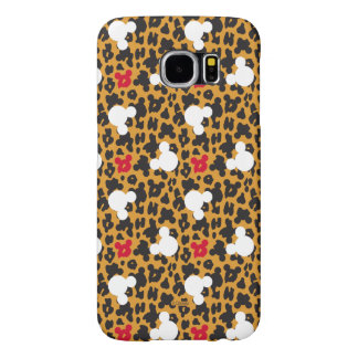 Minnie Mouse | Leopard Pattern Samsung Galaxy S6 Cases