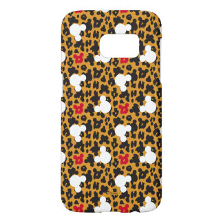 Minnie Mouse | Leopard Pattern Samsung Galaxy S7 Case