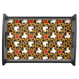 Minnie Mouse | Leopard Pattern Serving Tray