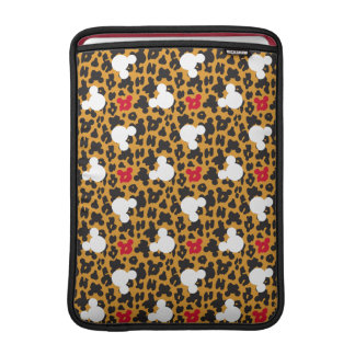 Minnie Mouse | Leopard Pattern Sleeve For MacBook Air