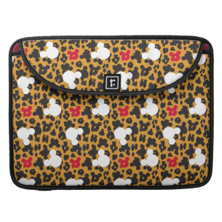 Minnie Mouse | Leopard Pattern Sleeve For MacBook Pro
