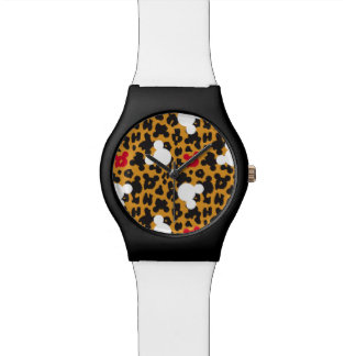 Minnie Mouse | Leopard Pattern Watch