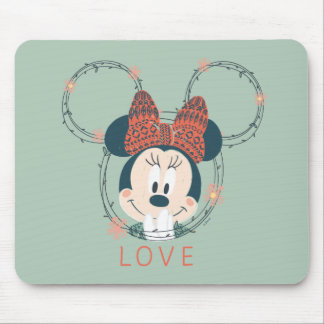 Minnie Mouse | Love Mouse Pad