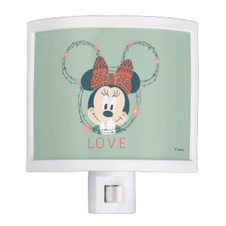 Minnie Mouse   Love Night Light