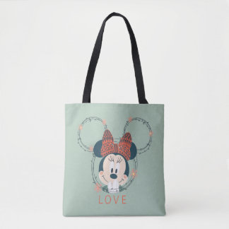 Minnie Mouse | Love Tote Bag