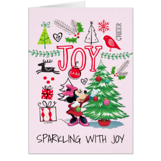 Minnie Mouse | Minnie's Christmas Joy Card